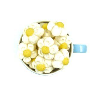 Marshmallows μαργαρίτες λευκές