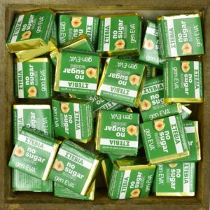 Geneva Σοκολατάκια με κρέμα φουντουκιού χωρίς ζάχαρη