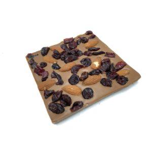 Σοκολάτα αμύγδαλο κράνμπερι