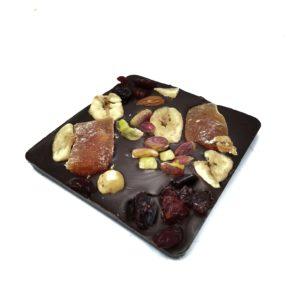 Σοκολάτα υγείας με φρούτα