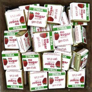 Geneva σοκολατάκια φράουλα χωρίς ζάχαρη